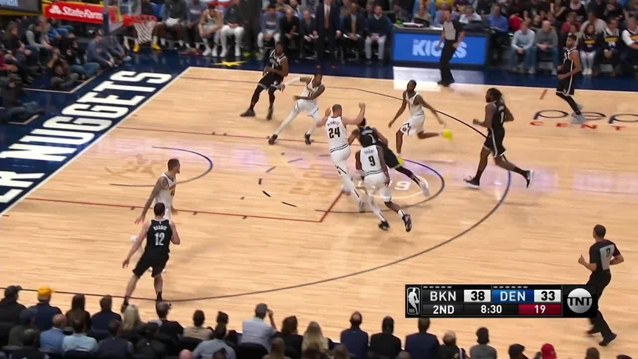 Melhores momentos: Denver Nuggets 101 x 93 Brooklyn Nets, pela NBA