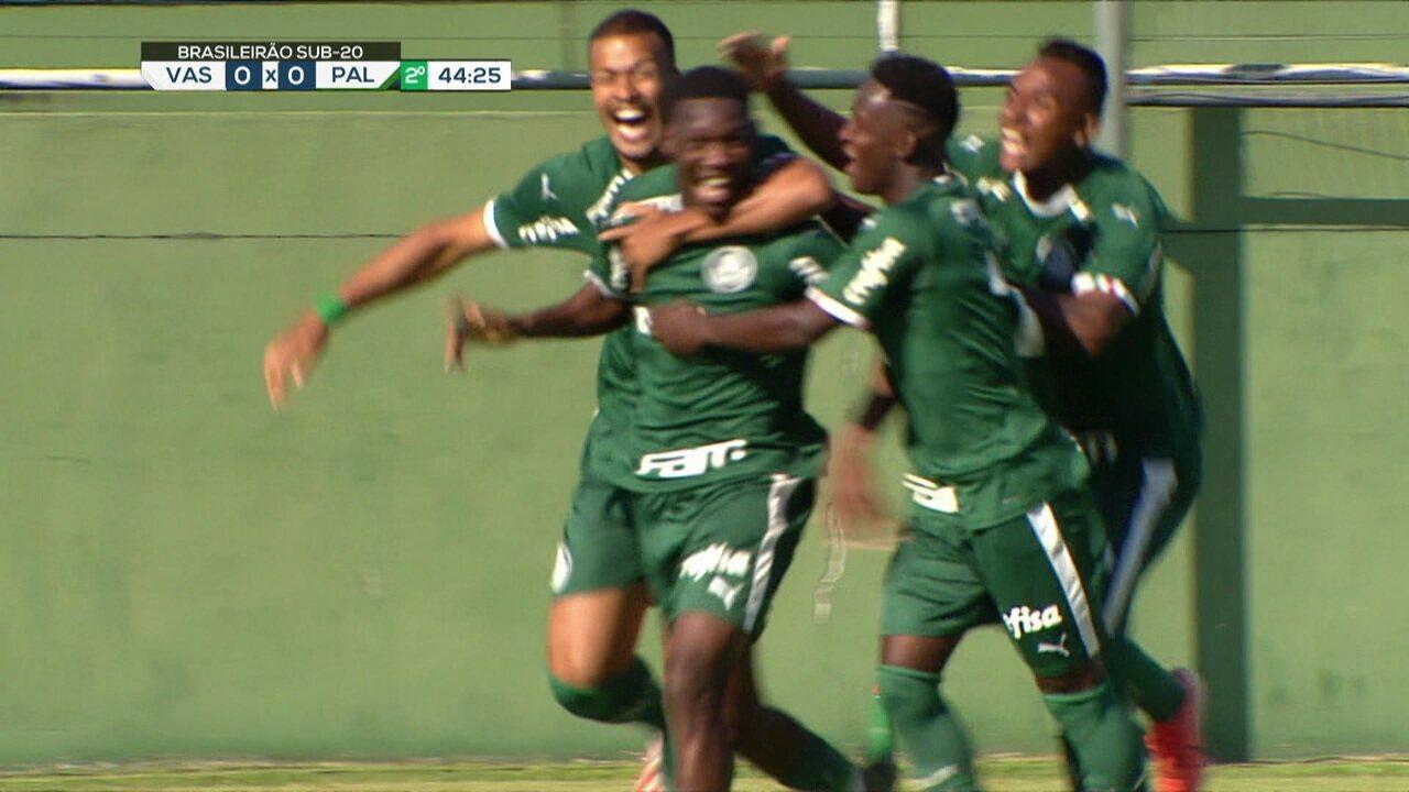 Gol do Palmeiras! Patrick de Paula vem carregando desde o meio e campo e faz um belo gol aos 44 do 2º tempo