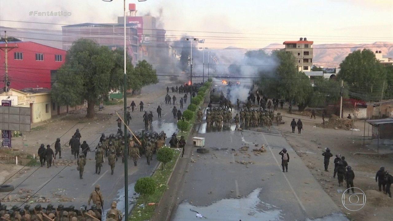ONU pede que as autoridades na Bolívia respeitem os direitos humanos