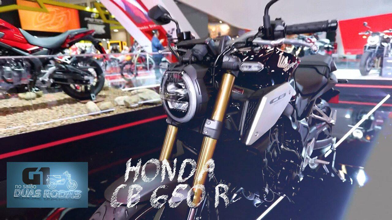 Salão Duas Rodas 2019: Honda 650 R