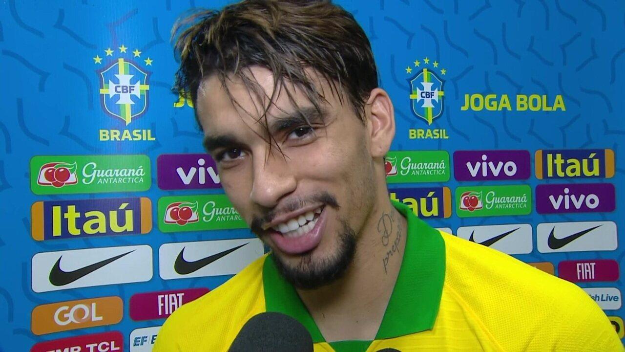 """Lucas Paquetá comemora volta por cima e manda mensagem para o Flamengo: """"Mengão na veia"""""""