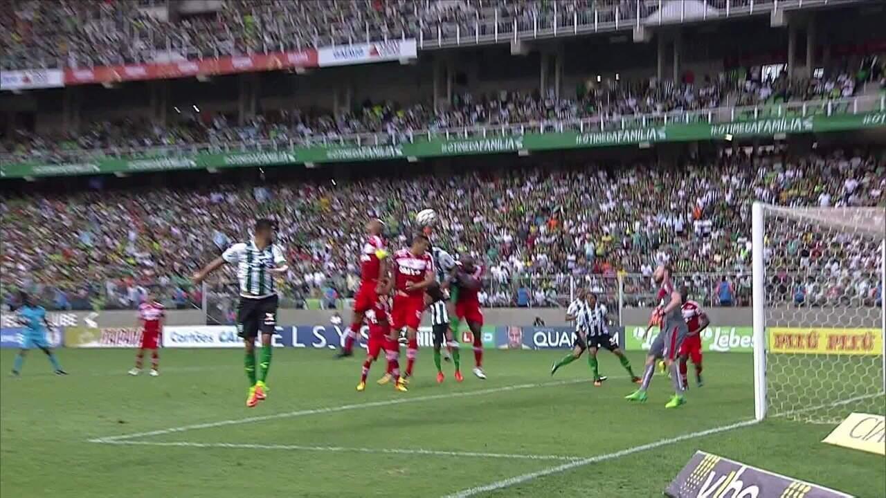 Gol de Rafael Lima sobre o CRB dá o título da Série B de 2017 ao América-MG