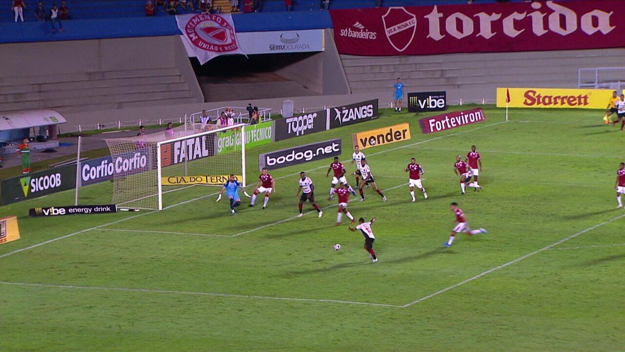 Melhores momentos: Vila Nova 1 x 1 Oeste pela 37ª rodada da série B do Brasileirão