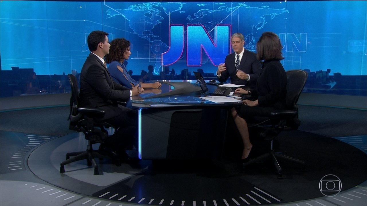 Aline Aguiar, de Minas, e Giovanni Spinucci, do Maranhão, apresentam o JN no sábado (23)
