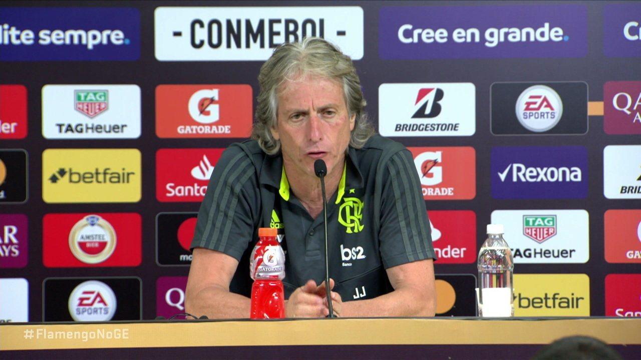 Jorge Jesus diz que a final da Libertadores foi melhor do que a final da última Champions