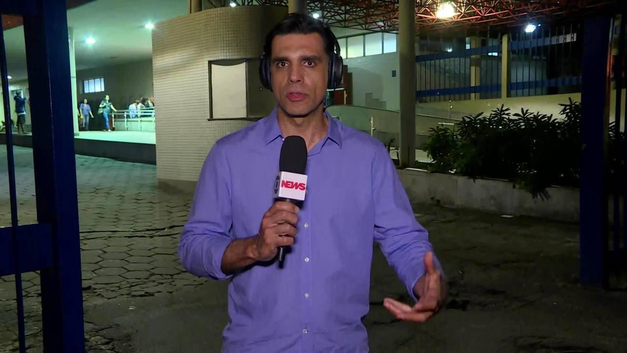 Vinte e três pessoas são atendidas em hospital após confusão no desfile do Flamengo