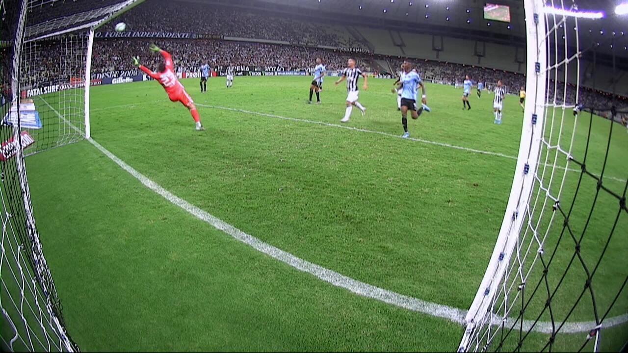 Os gols de Ceará 1 x 1 São Paulo pela 34ª rodada do Brasileirão 2019