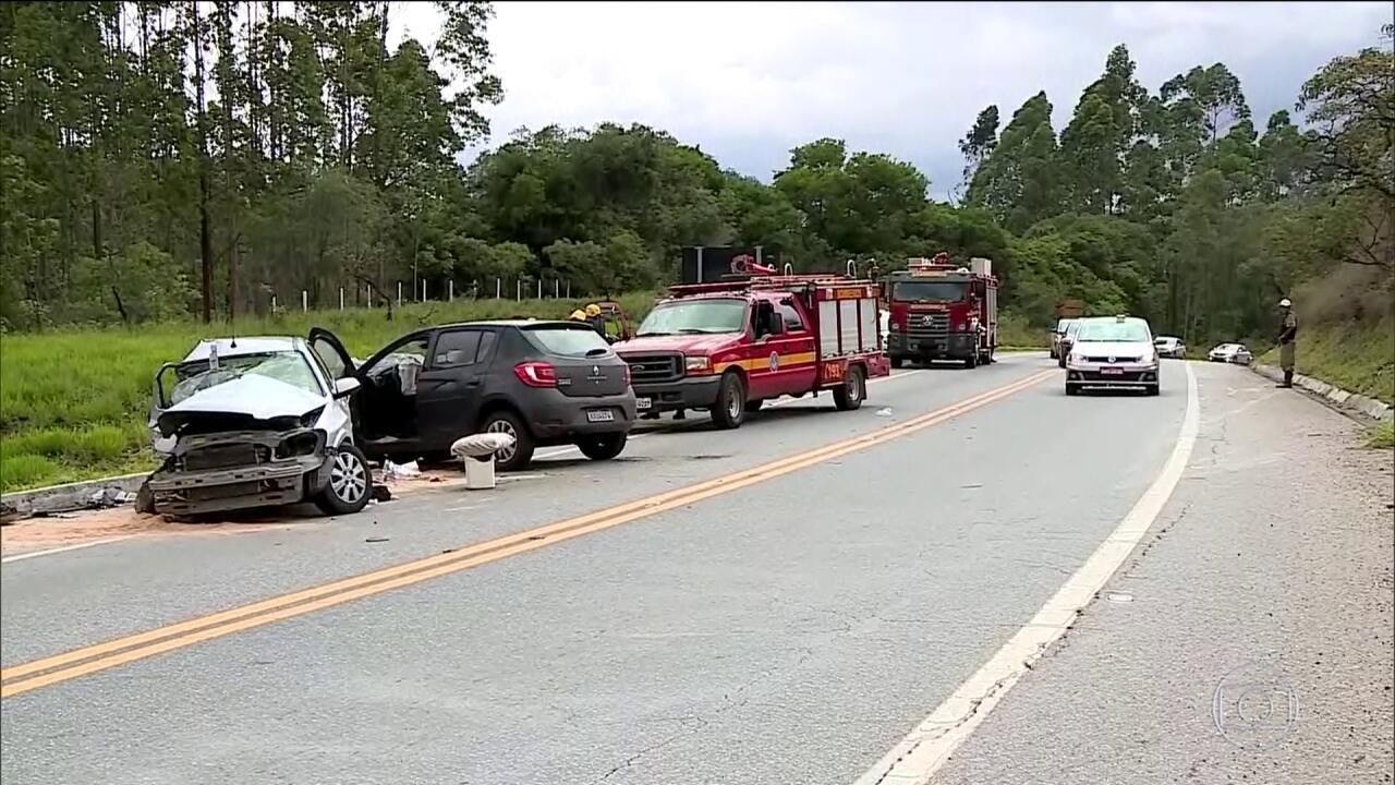 Acidentes aumentam quase 8% após suspensão do uso de radares móveis nas estradas federais