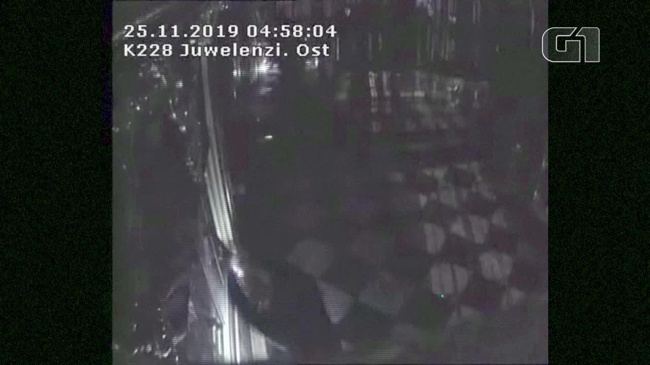 Vídeo mostra ação de ladrões que levaram joias do museu de Dresden, na Alemanha