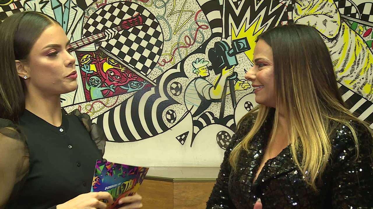 Viviane Araújo lembra título do 'Dança dos Famosos' e fala da preparação para o Carnaval