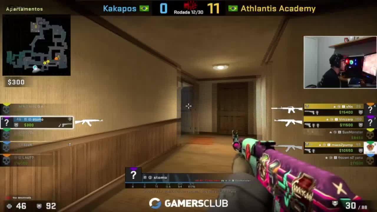CS:GO: Athlantis Academy vence Kakapos na primeira rodada da BSL; ASSISTA