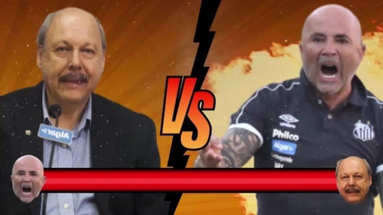 GE Explica: A relação Sampaoli x Peres que afasta o técnico do Santos