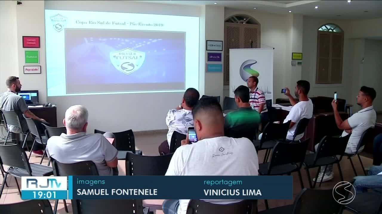 TV Rio Sul realiza primeira reunião preparativa para Copa Rio Sul de Futsal 2020
