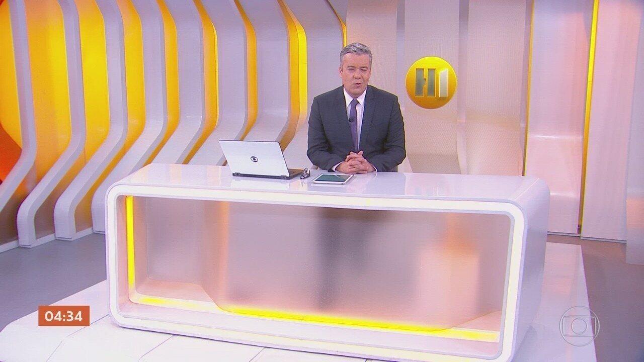 Hora 1 - Edição de quinta-feira, 28/11/2019 - Os assuntos mais importantes do Brasil e do mundo, com apresentação de Roberto Kovalick.