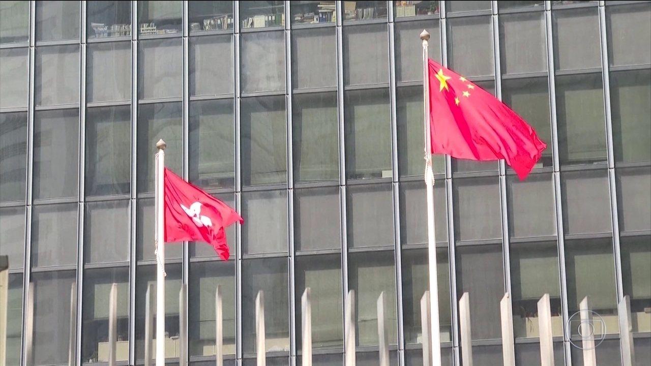 China ameaça retaliar EUA por aprovar lei em apoio a Hong Kong