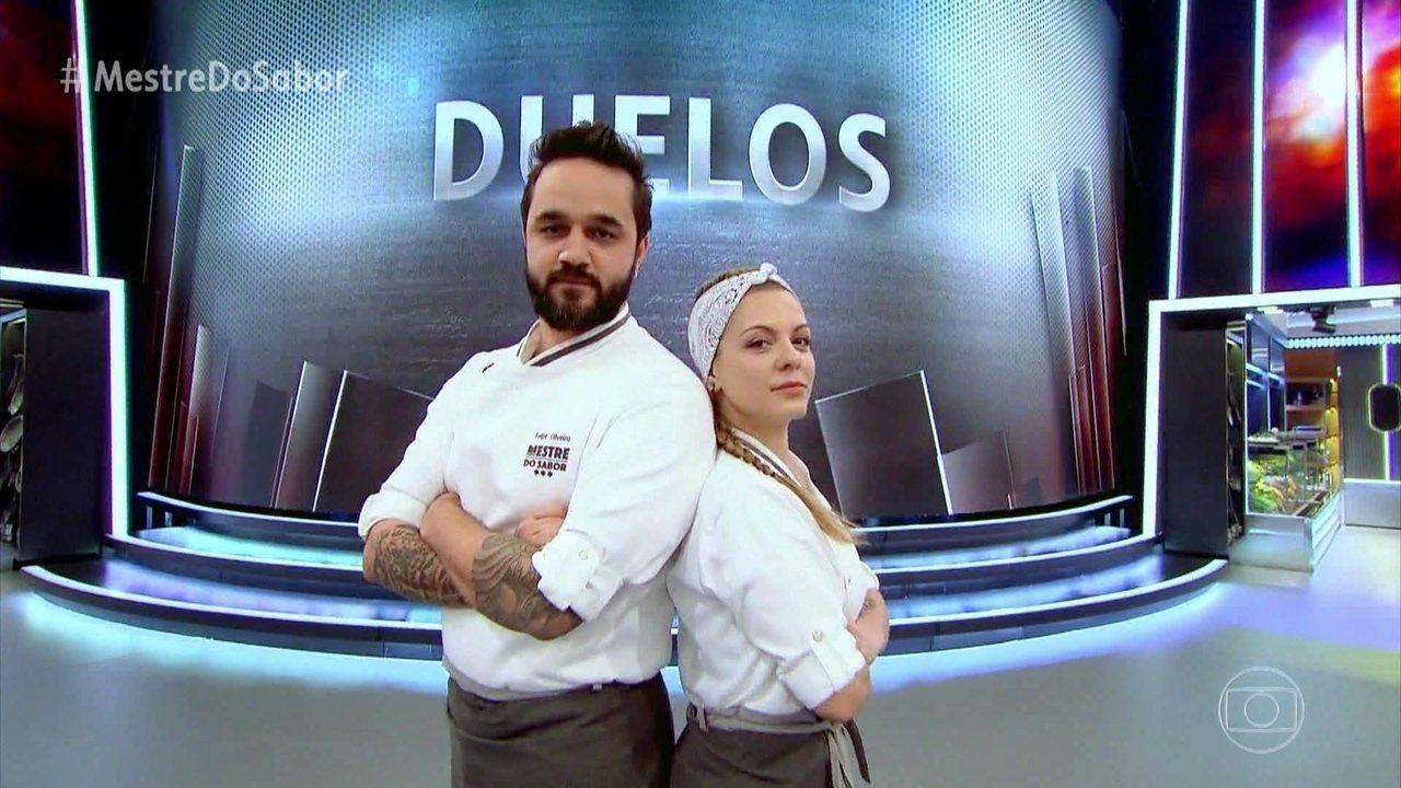 Amanda Grezzana escolhe disputar duelo com Felipe Oliveira