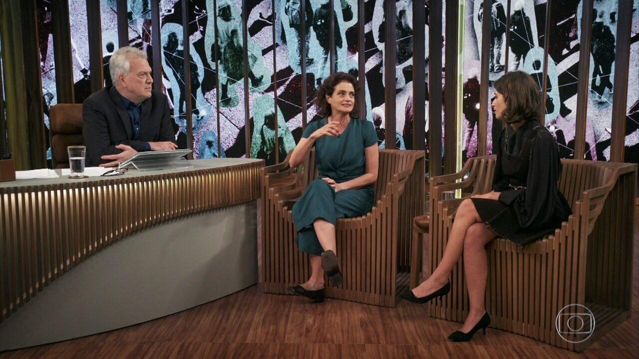 Denise Fraga e Luisa Arraes falam sobre redes sociais