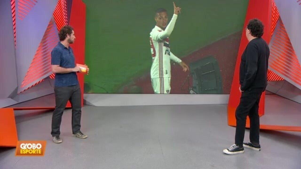 Veja o gol de São Paulo 1 x 0 Vasco; Casagrande comenta declaração polêmica de Daniel Alves