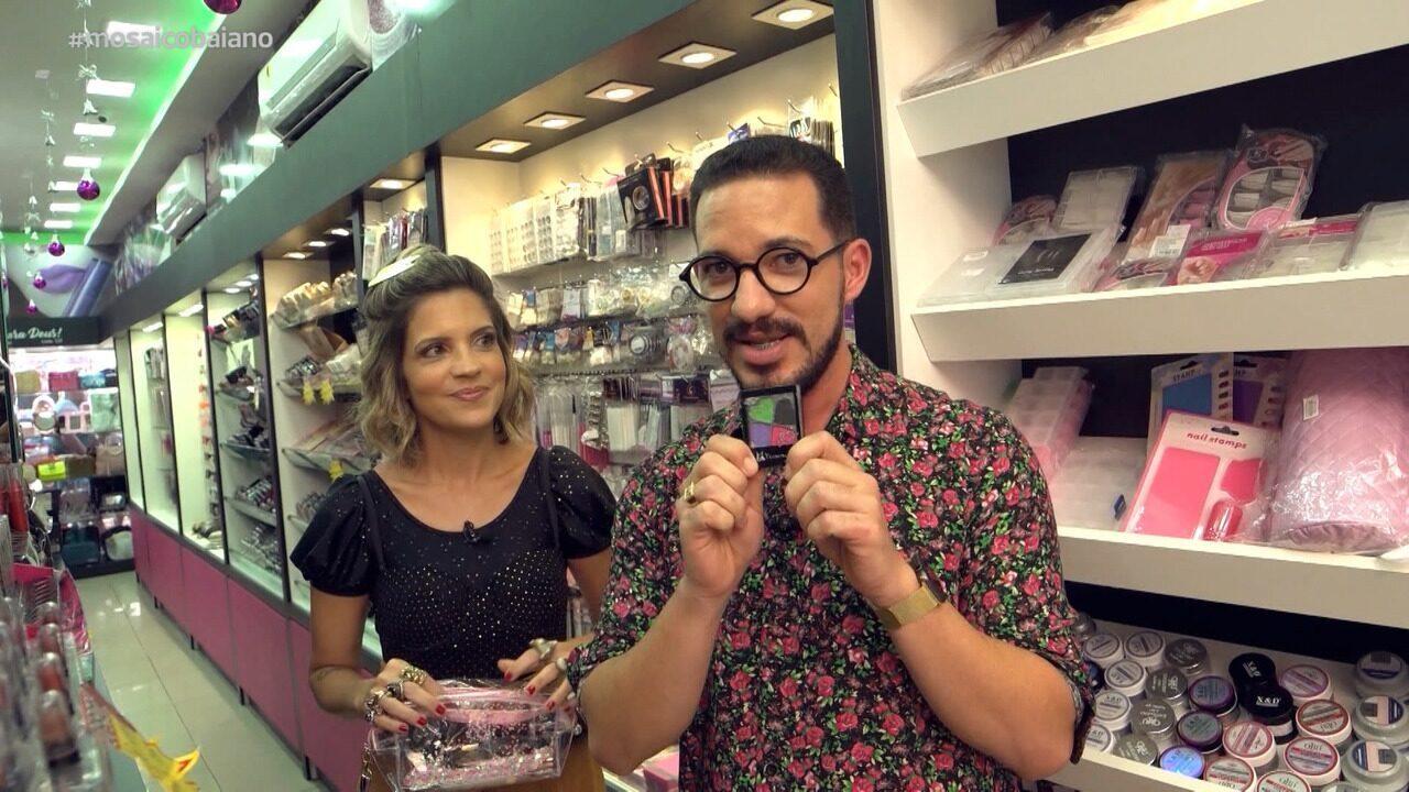 Paula Magalhães e Jean Silva, makeup artist, dão dicas de maquiagens baratas