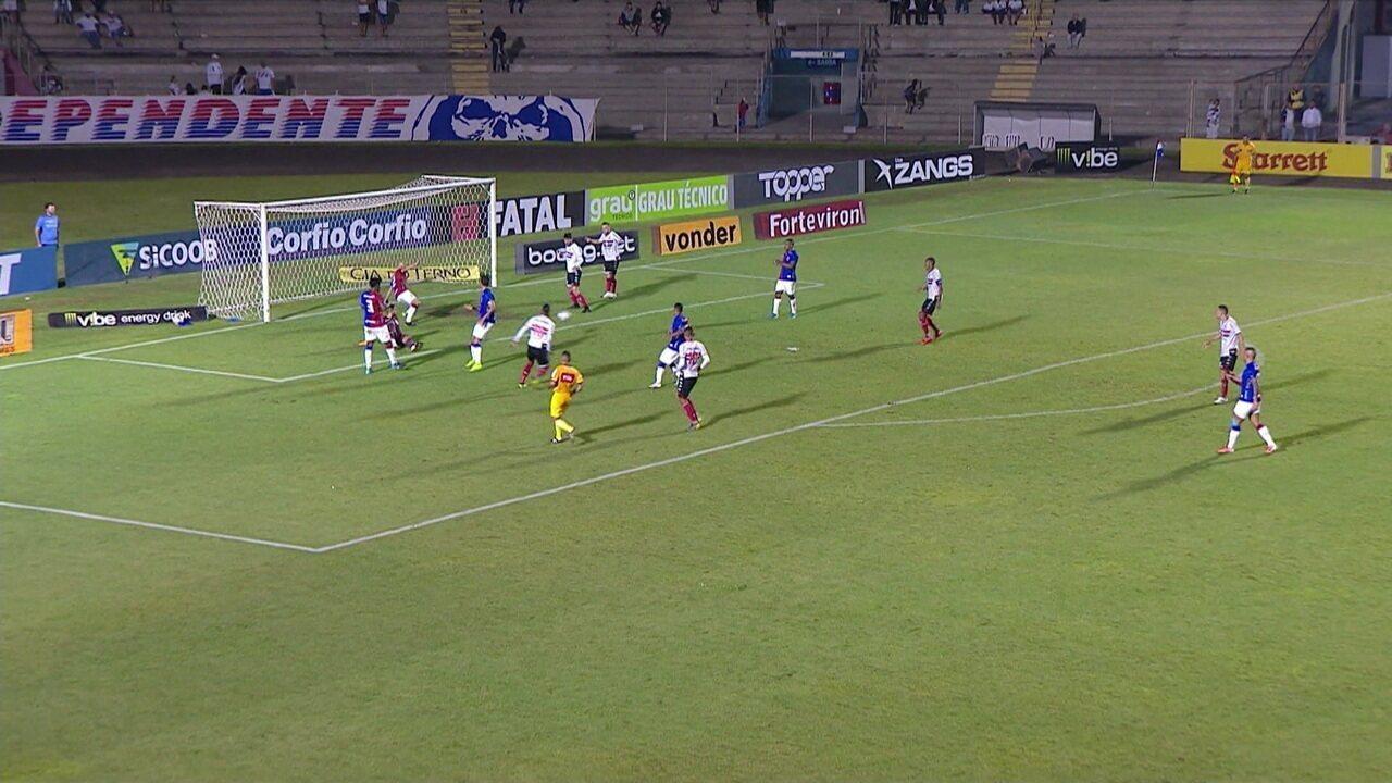 Melhores momentos: Paraná 3 x 3 Botafogo-SP pela 38ª rodada do Brasileiro Série B