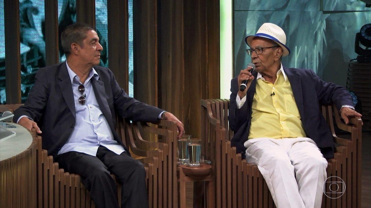 Monarco fala sobre os bastidores de sua primeira gravação, com Risadinha, nos anos 50