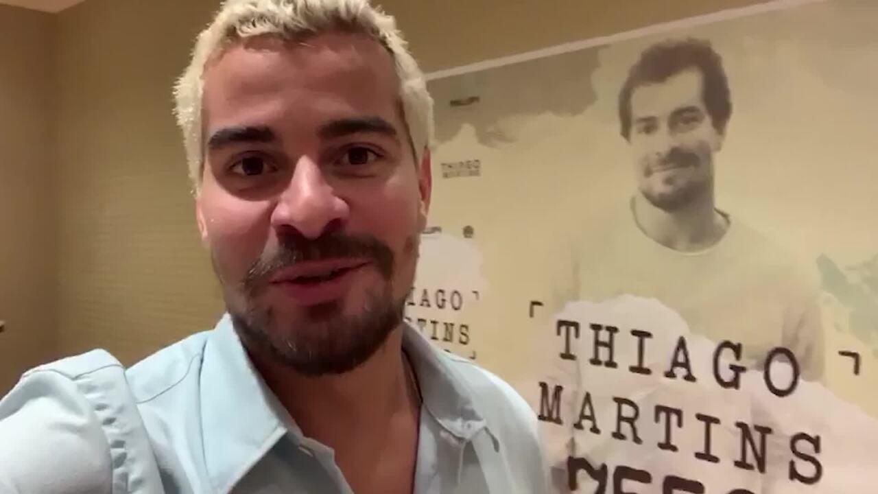 Thiago Martins comenta expectativa para gravação de seu 1º DVD