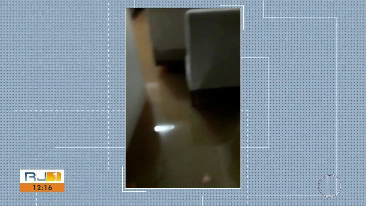 Chuva causa transtornos no interior do Rio
