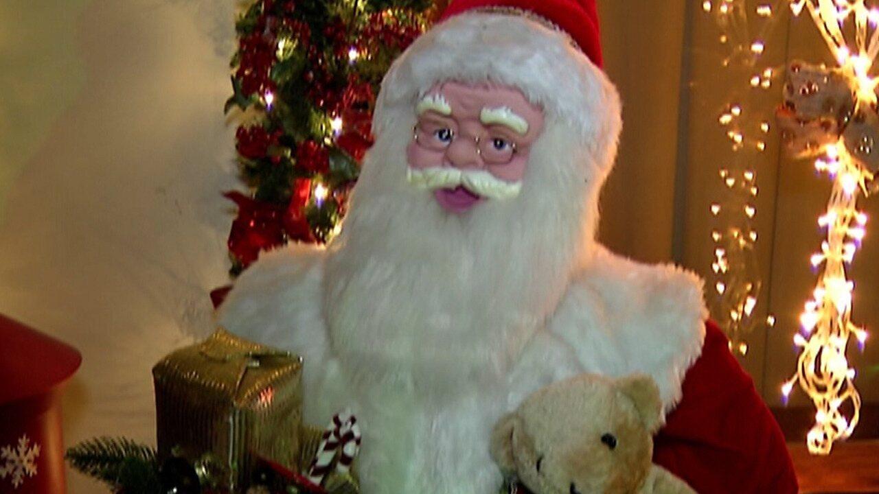 A Rena Mais Famosa Do Papai Noel casa do papai noel é atração em arujá