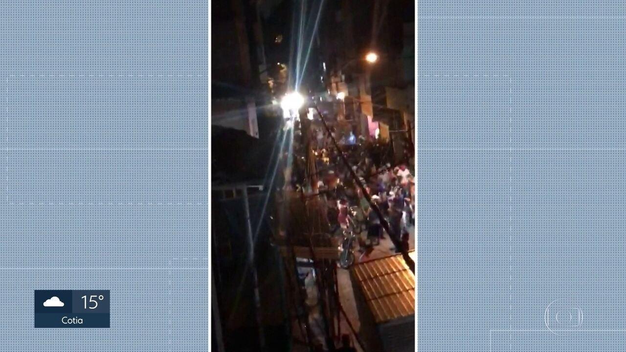 Mortes em Paraisópolis: jovens correram para viela para tentar fugir de tumulto