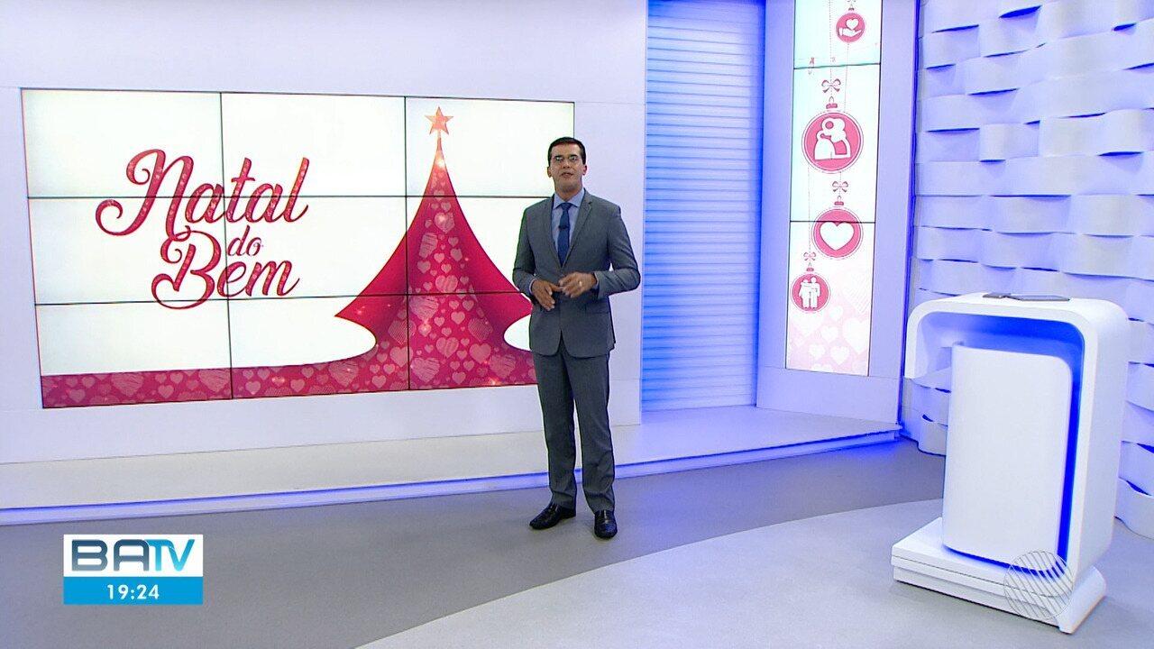 TV Bahia lança a segunda edição da 'Campanha Natal do Bem' nesta segunda