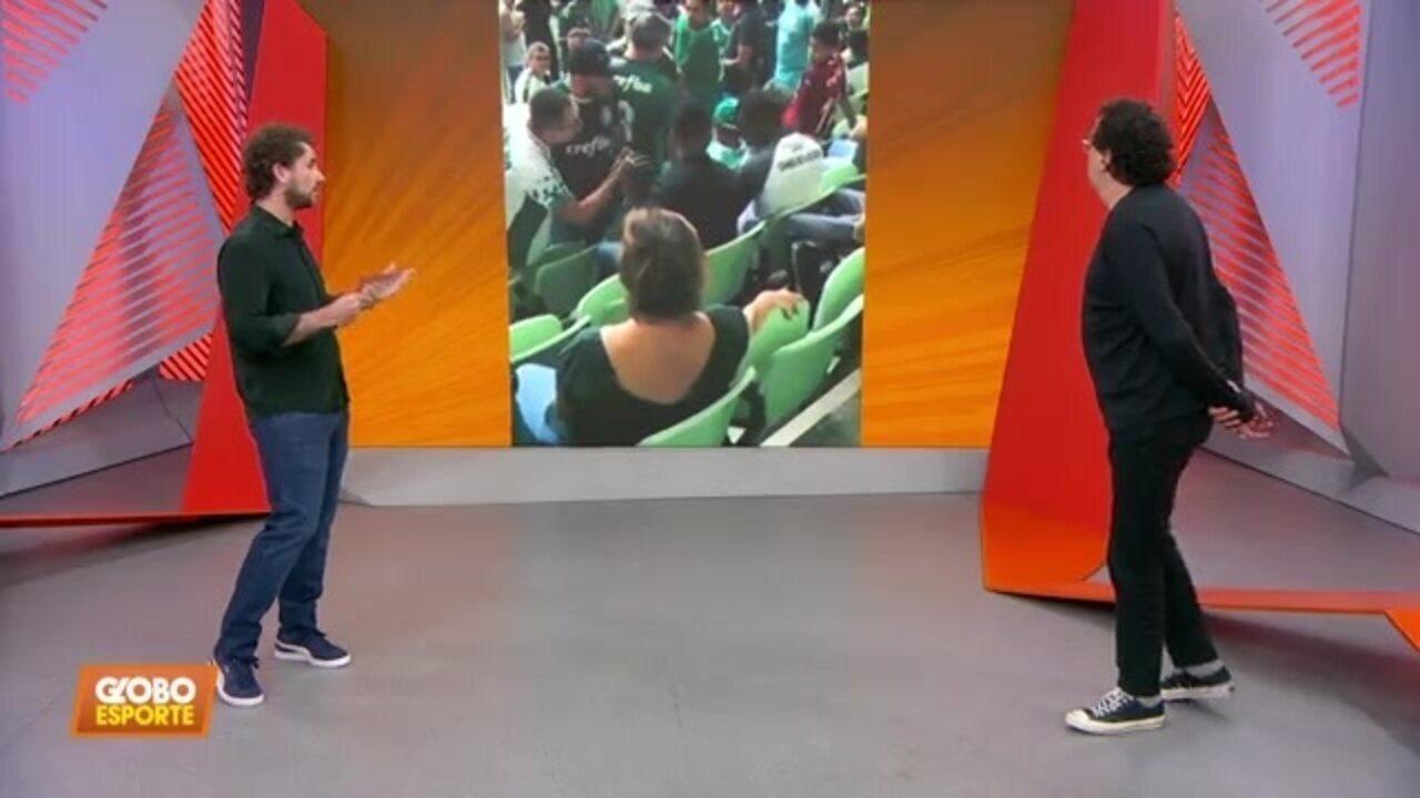 Mais dois foram expulsos por palmeirenses da arena; Palmeiras se manifesta, e Casão comenta