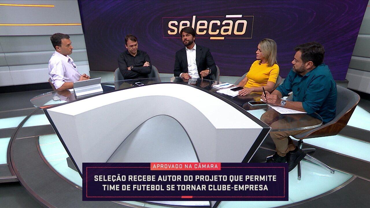 Pedro Paulo participa do Seleção para explicar o projeto clube-empresa