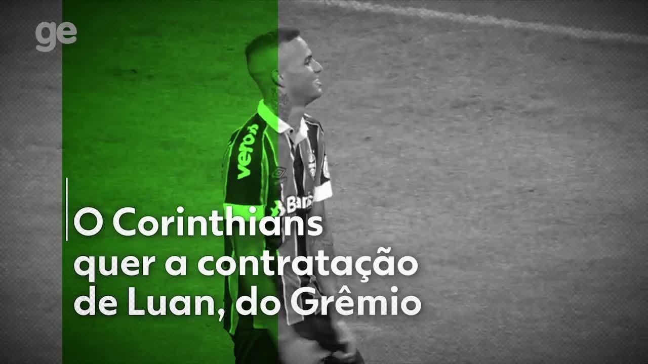 Corinthians tenta a contratação de Luan, do Grêmio