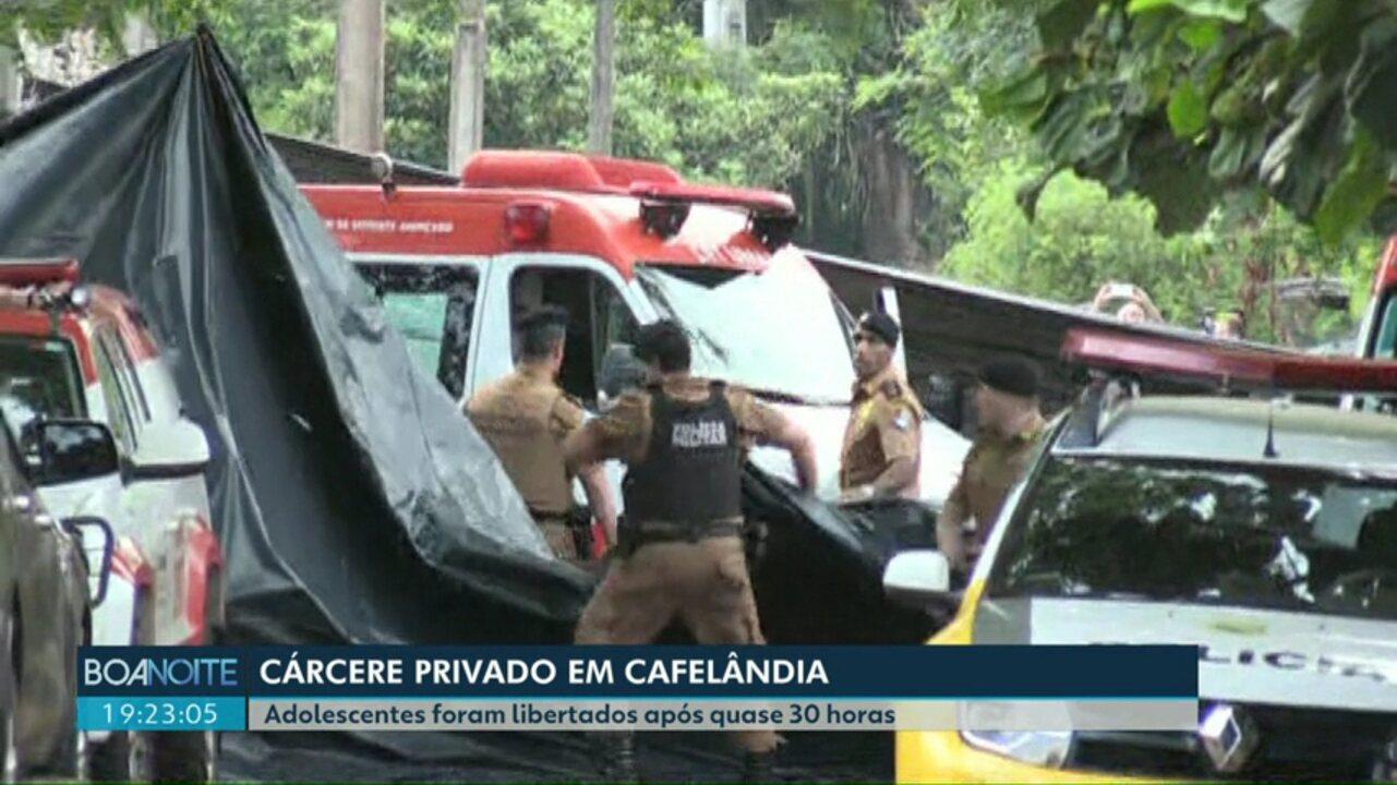 Depois de 28 horas, termina sequestro de adolescentes em Cafelândia