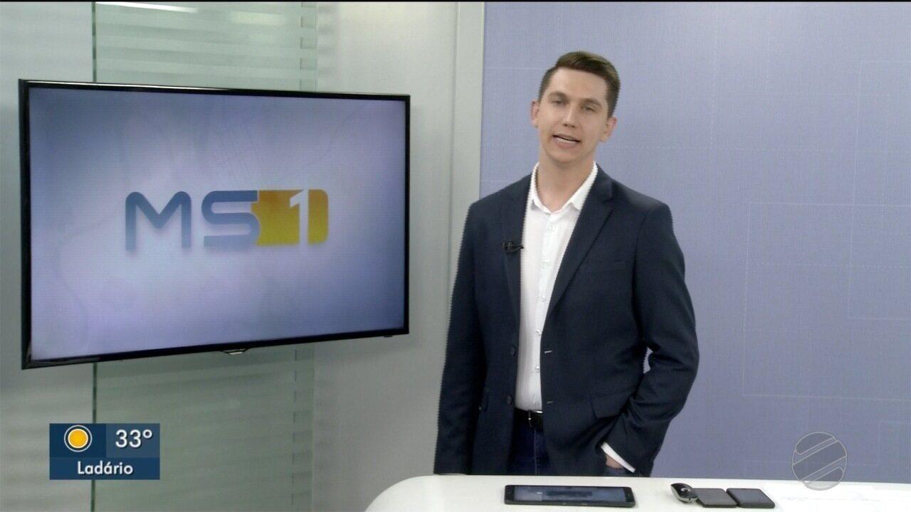 MSTV 1ª Edição Corumbá, edição de quarta-feira, 04/12/2019 - MSTV 1ª Edição Corumbá, edição de quarta-feira, 04/12/2019