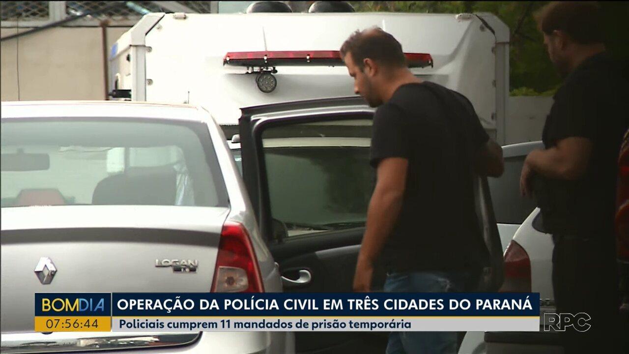 Resultado de imagem para Polícia Civil faz operação contra quadrilha suspeita de aplicar golpe em seis estados; vítimas são investidores de bitcoins