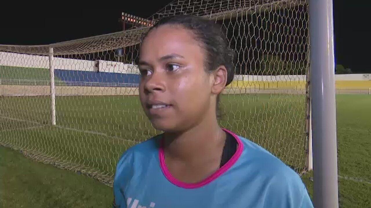 Autora de gol da vitória do Atlético-AC mira final e quer evolução na pontaria da equipe