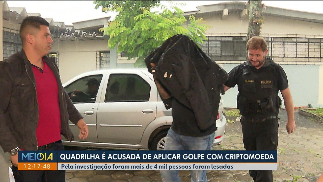 Nove são presos suspeitos de aplicar golpe com criptomoeda