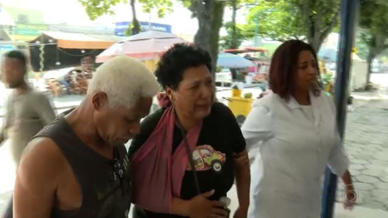 Pacientes sofrem com a falta de atendimento em hospitais do Rio