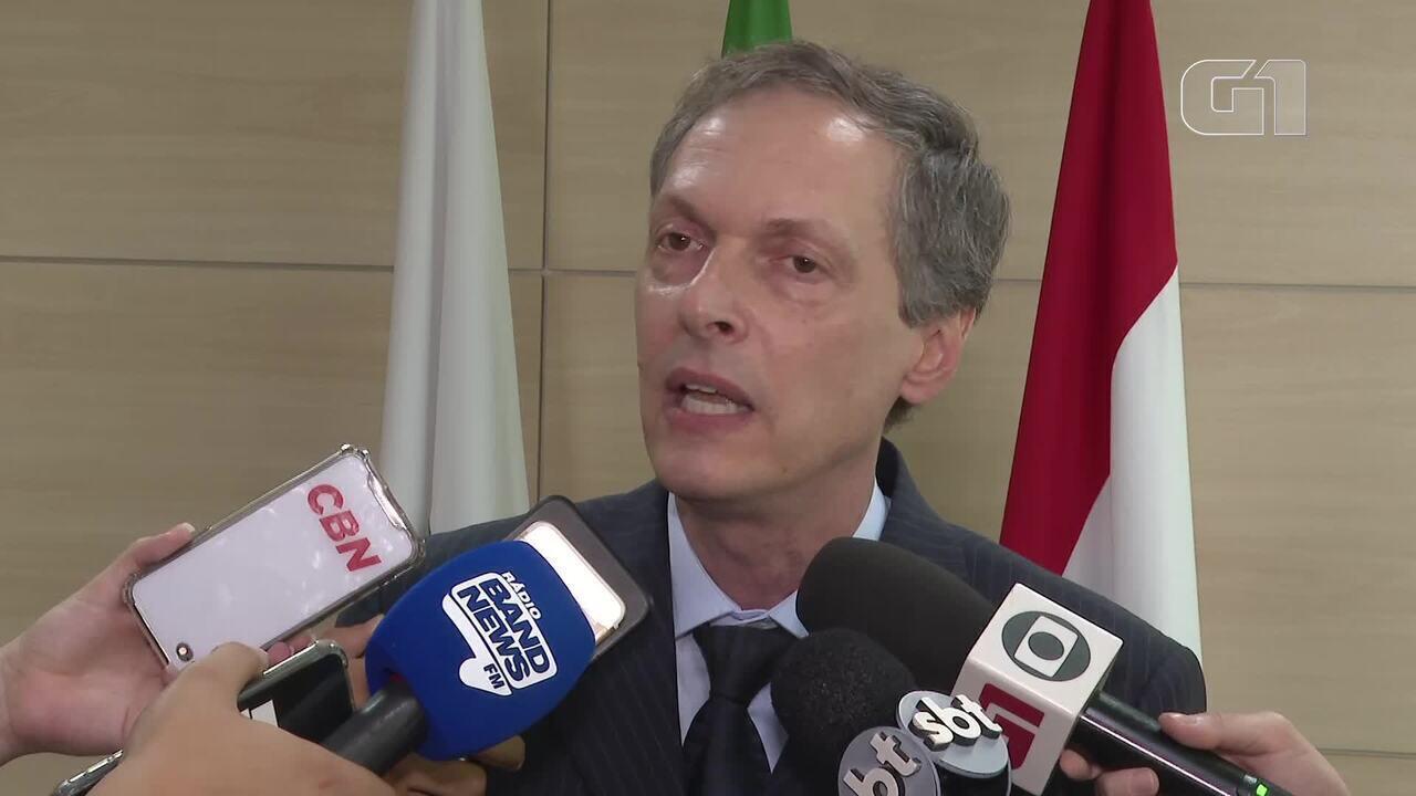 Delegado Leandro Ritt, da Divisão de Repressão à Sequestros do DF fala sobre caso Bernardo