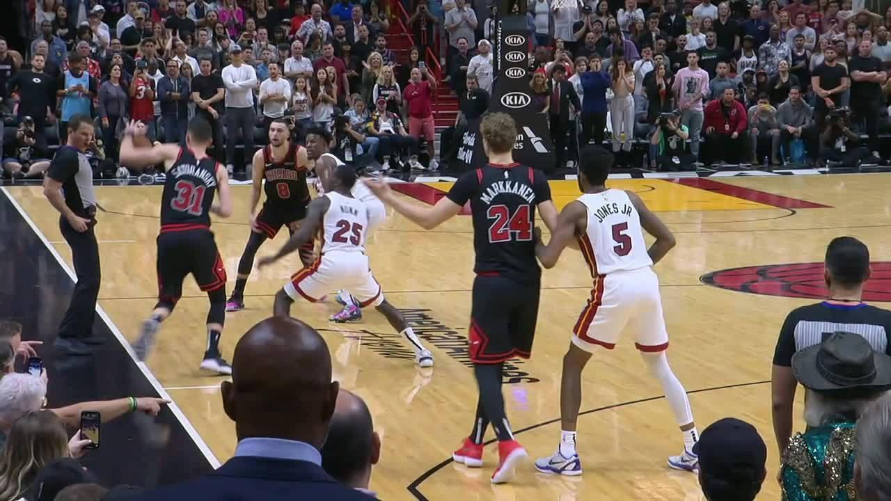 Melhores momentos: Miami Heat 110 x 105 Chicago Bulls pela NBA
