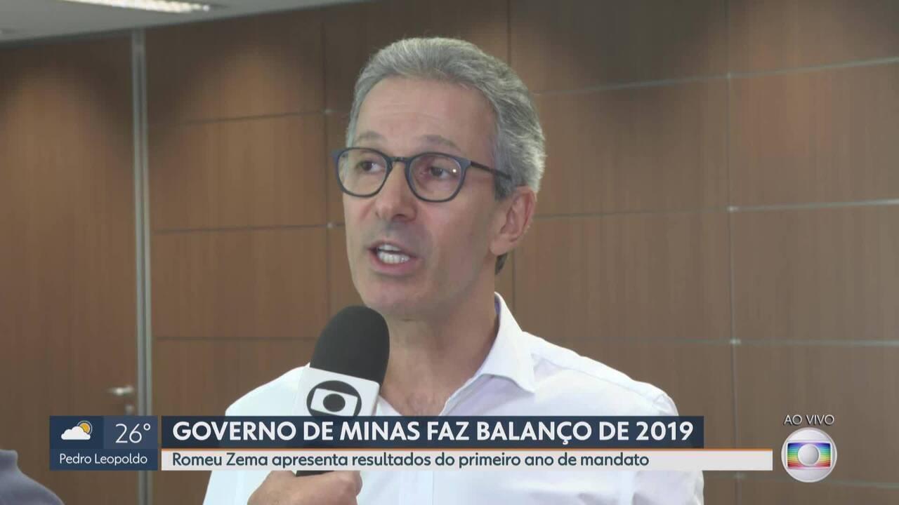 Romeu Zema diz que cortes e reformas são essenciais para estado regularizar contas