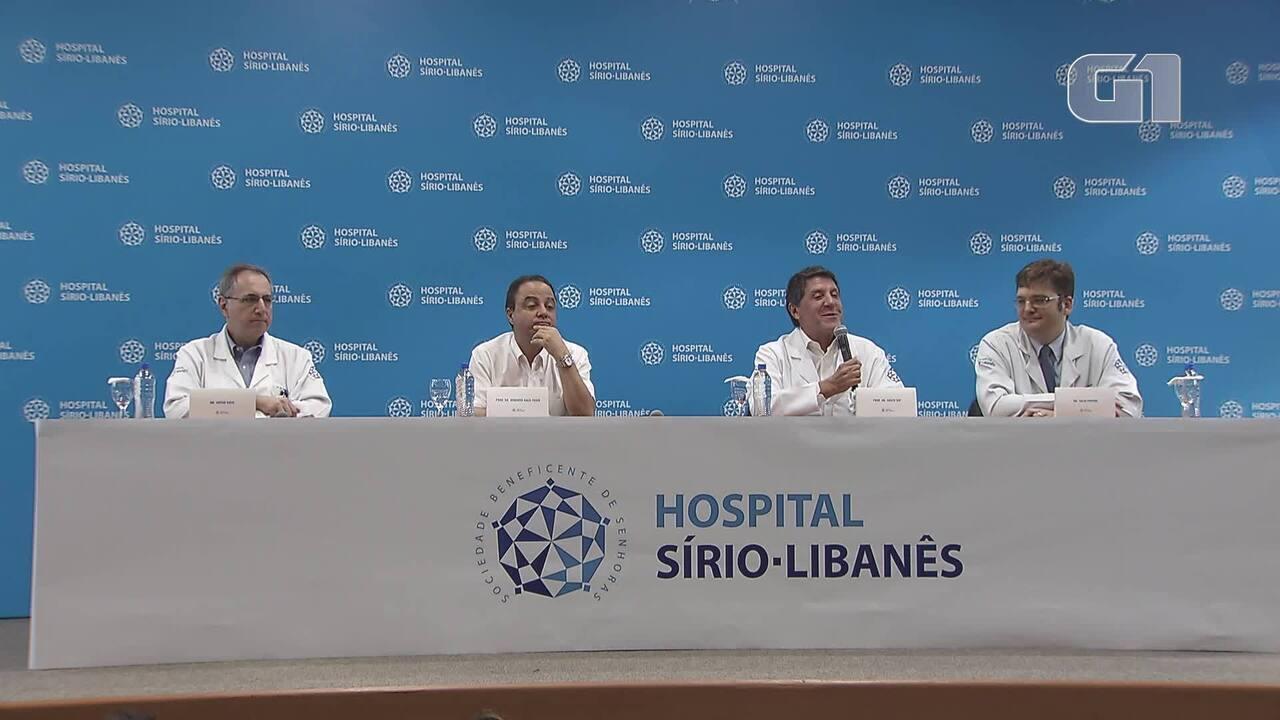 Tumor de Bruno Covas regride e prefeito fará mais cinco sessões de quimioterapia