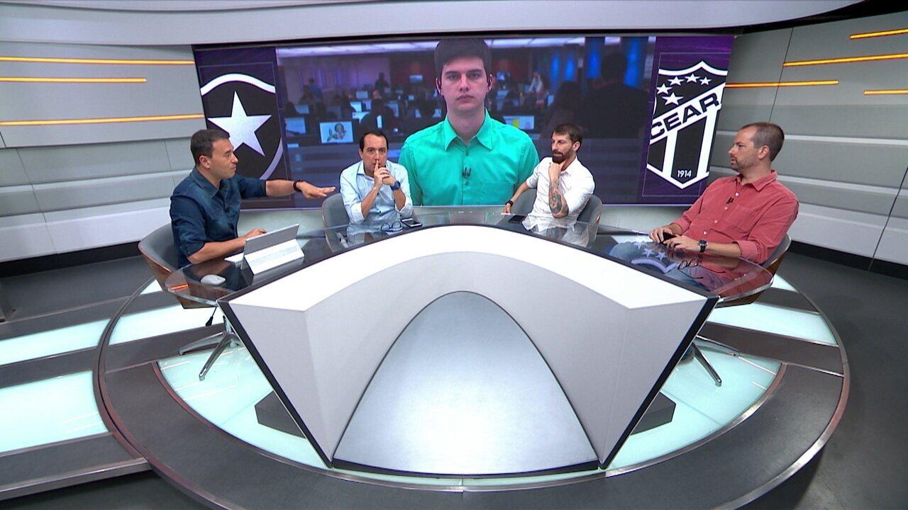 """Para Rizek, Botafogo """"deu sorte"""" por Brasileirão ter times piores que ele em 2019"""