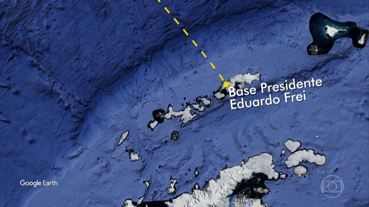Avião da Força Aérea do Chile está desaparecido no extremo Sul do continente