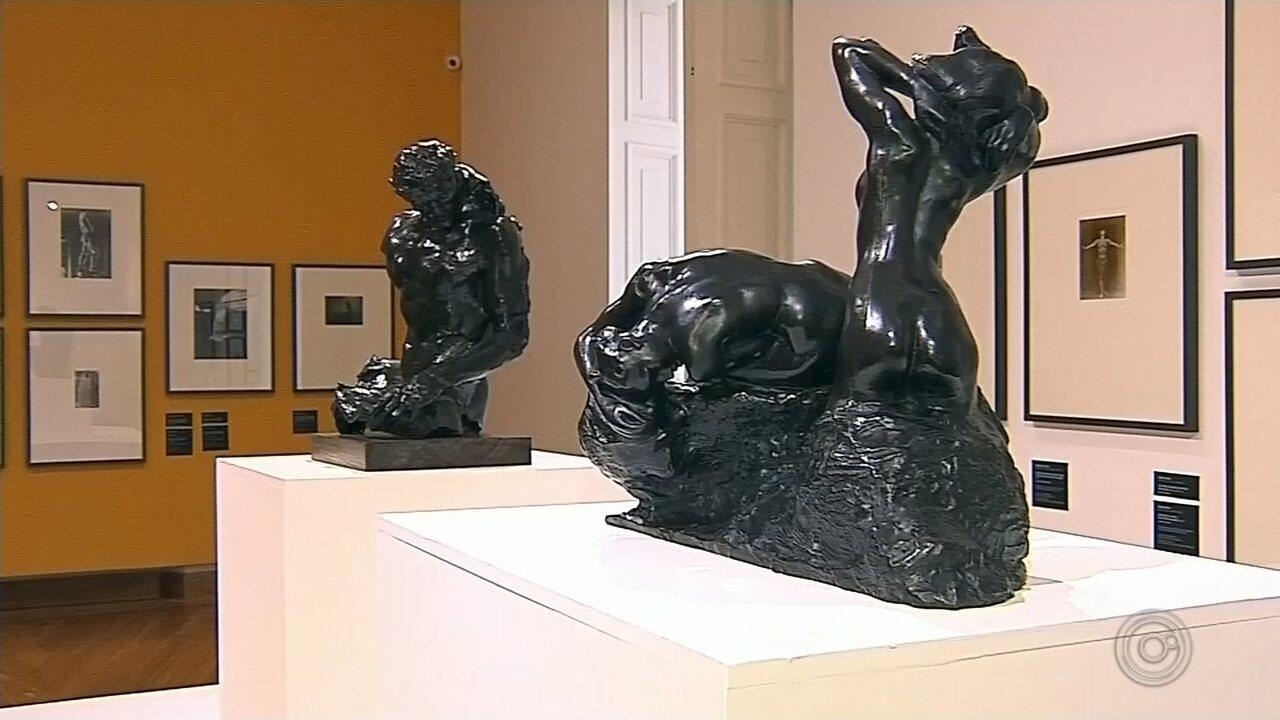 Botucatu recebe exposição com obras do artista plástico Auguste Rodin