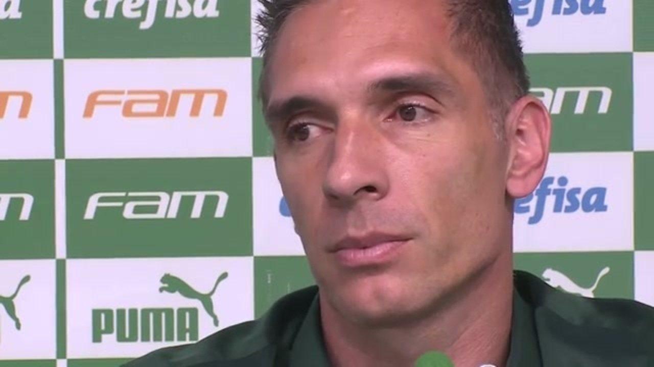 Veja a entrevista coletiva de despedida de Fernando Prass no Palmeiras