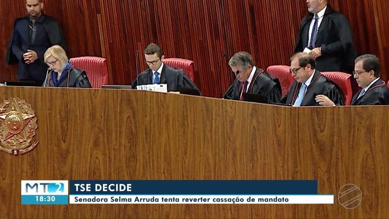 TSE retoma julgamento da senadora Selma Arruda