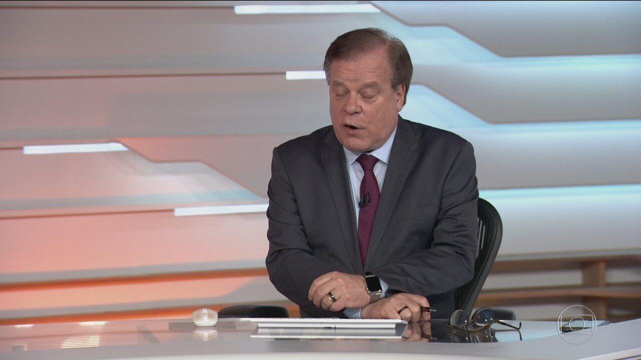 Bom dia Brasil - Edição de quarta-feira, 11/12/2019 - O telejornal, com apresentação de Chico Pinheiro e Ana Paula Araújo, exibe as primeiras notícias do dia no Brasil e no mundo e repercute os fatos mais relevantes.
