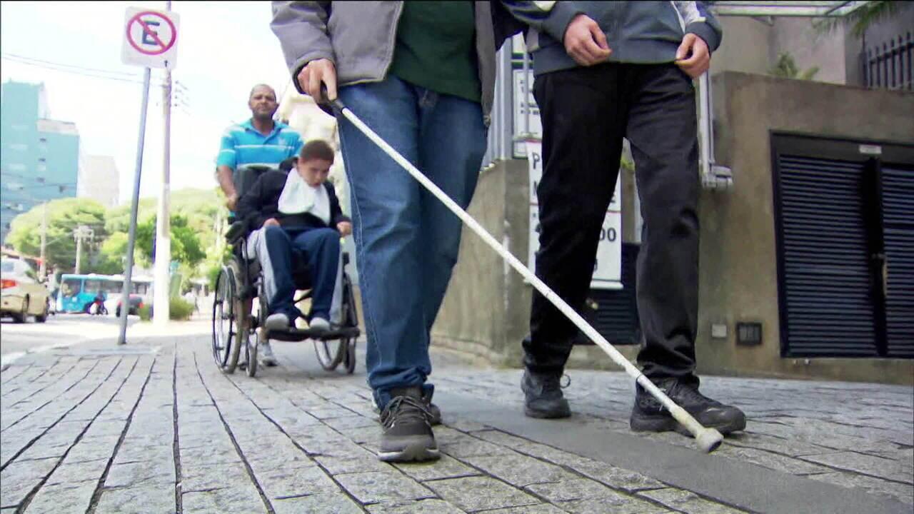 Calçadas e ruas de São Paulo têm as piores condições de acessibilidade